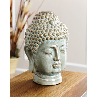 ABBYSON LIVING Turquoise Antique Buddha Figural