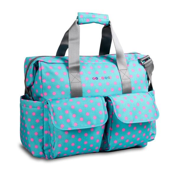 JWorld NewYork Mint Buttons Amber Weekender Duffel Tote Bag