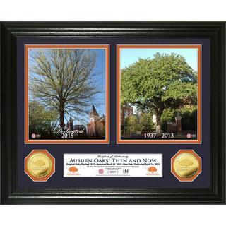 Auburn Oaks 'Then & Now' Gold Coin Photo Mint