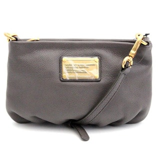 Marc by Marc Jacobs 'Classic Q Percy' Faded Aluminum Leather Crossbody