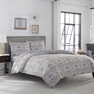 Adrienne Vittidini Argent 3-piece Comforter Set