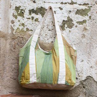 Handcrafted Cotton 'San Juan Acul' Hobo Handbag (Guatemala)