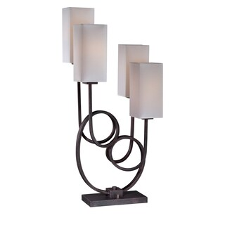 Lite Source Taisiya 4-light Table Lamp
