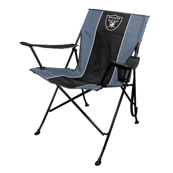 Jarden NFL Oakland Raiders TLG8 Chair with Carrying Bag 15291875