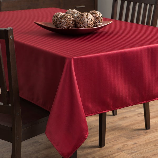 Rosedale Rio Red Tablecloth