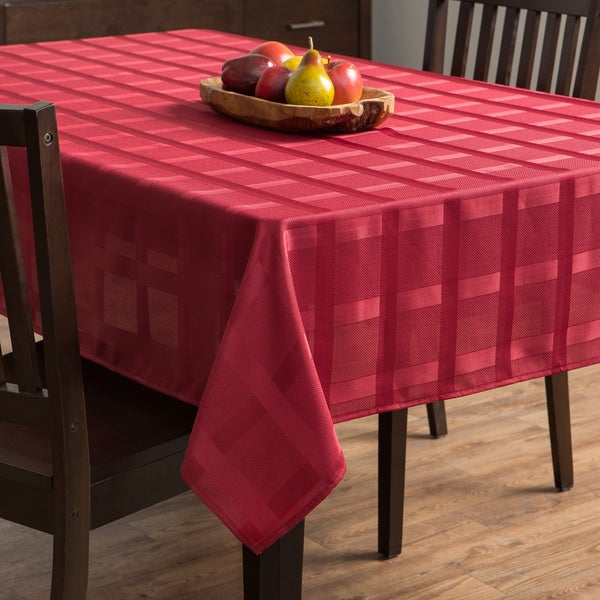 Maison Rio Red Tablecloth