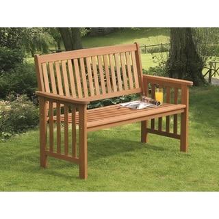 Camillion 2-Seat Bench Mixed Hardwood