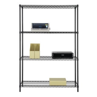 Excel (48 inch wide x 72 inch high x 18 inch deep) All Purpose Heavy Duty 4-Tier Wire Shelving