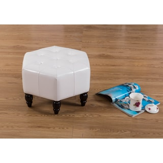 Warehouse of Tiffany Cyiarra White 21-inch Ottoman
