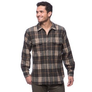 Woolrich Bering Men's Wool Plaid Shirt
