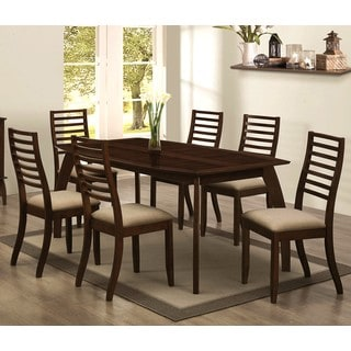 Kriens Transitional Ladder Back 7-piece Dining Set