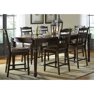 Margarita Decorative 2-Tone Counter Height Dining Set