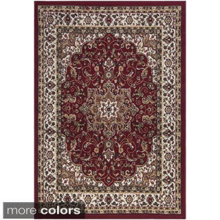 Paterson Collection Traditional Medallion Area Rug (8'2 x 9'10)