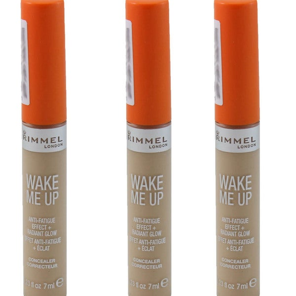 Rimmel Wake Me Up Very Fair 126 Concealer (Pack of 3)