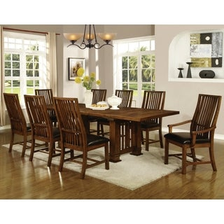 Liberty Mission Style 9-piece Dining set
