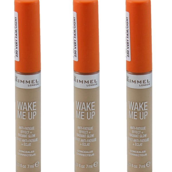 Rimmel Wake Me Up Very Fair/Light Concealer (Pack of 3)