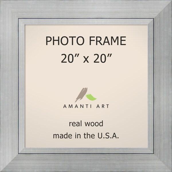 Romano Silver Photo Frame 27 x 27-inch