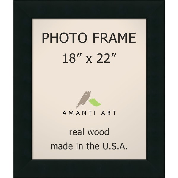 Corvino Black Photo Frame 23 x 27-inch