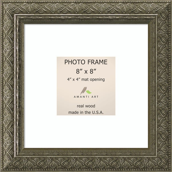Barcelona Pewter Photo Frame 10 x 10-inch