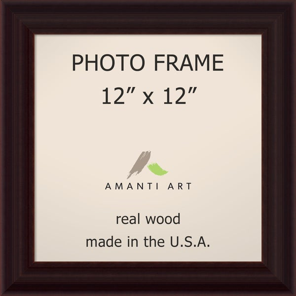 Espresso Photo Frame 15 x 15-inch