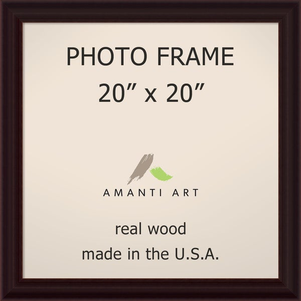 Espresso Photo Frame 23 x 23-inch