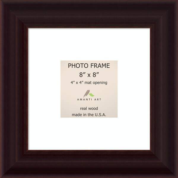 Espresso Photo Frame 11 x 11-inch