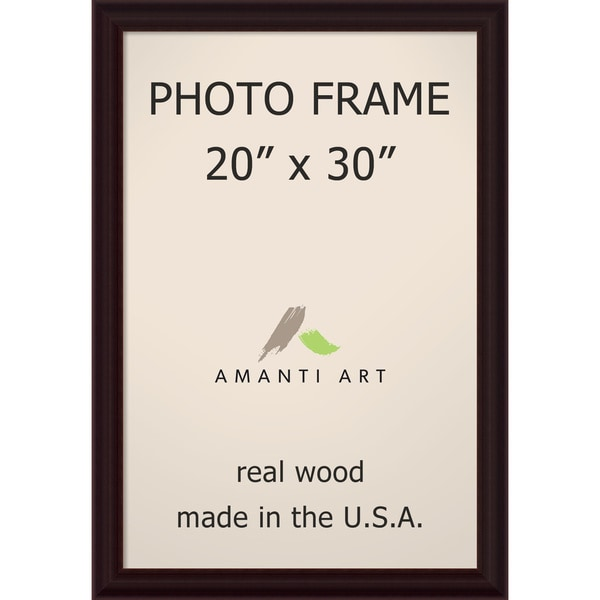 Espresso Photo Frame 23 x 33-inch