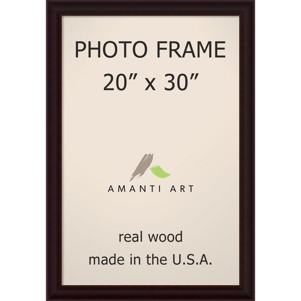 Espresso Photo Frame 23 x 33-inch