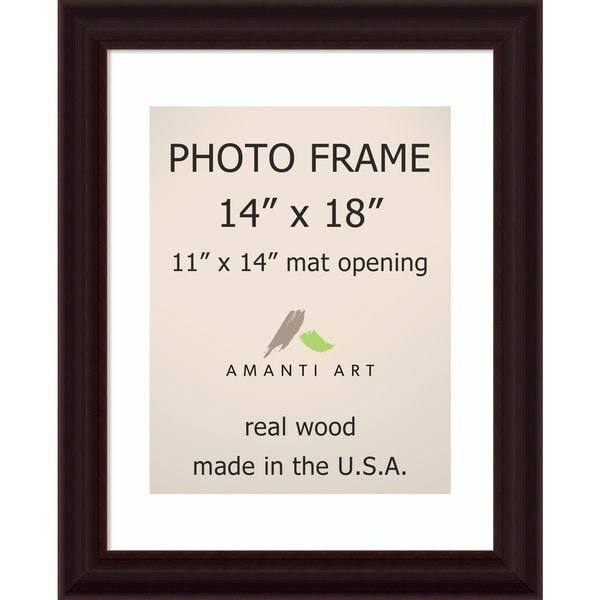 Espresso Photo Frame 17 x 21-inch