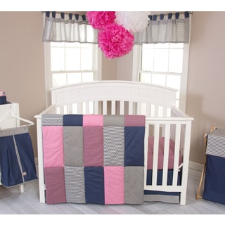 Trend Lab Perfectly Pretty 3-piece Crib Bedding Set