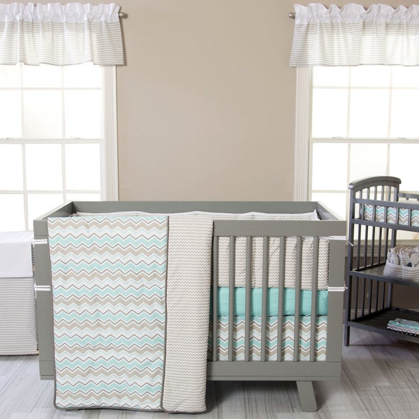 Trend Lab Seashore Waves 3-piece Crib Bedding Set