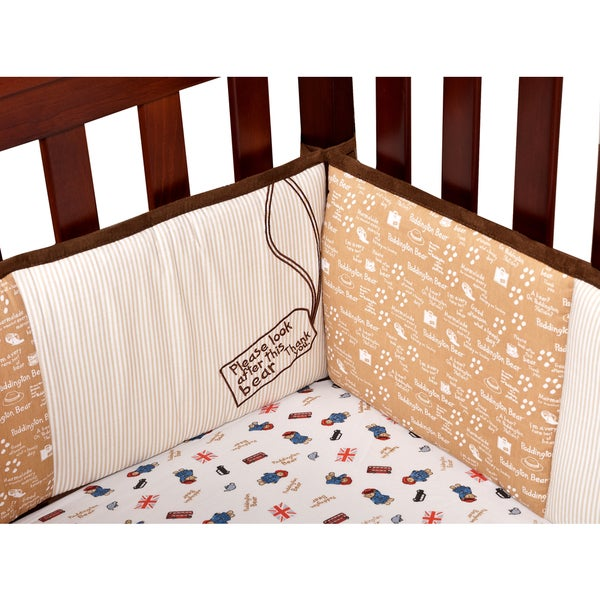 Trend Lab Paddington Bear Crib Bumper