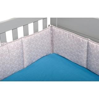 Trend Lab Circles Gray Crib Bumper