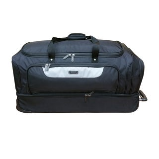 Kenneth Cole 32-inch Drop Bottom Rolling Duffle Bag