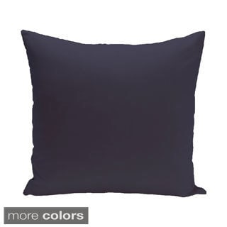Exclusive Color Solid Print Decorative Pillow