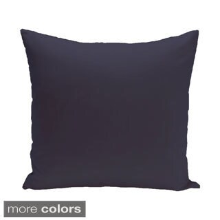 26 x 26-inch Exclusive Color Solid Print Decorative Pillow