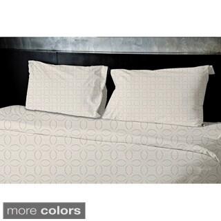 Light Green, Grey, Cream, Light Purple, Taupe Geometrics Printed Twin Duvet Cover