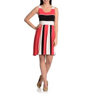 Chelsea & Theodore Women's Striped Sundress
