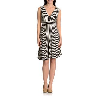 Chelsea & Theodore Women's striped dress