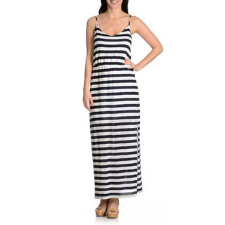 Chelsea & Theodore Women's Striped Maxi Dress