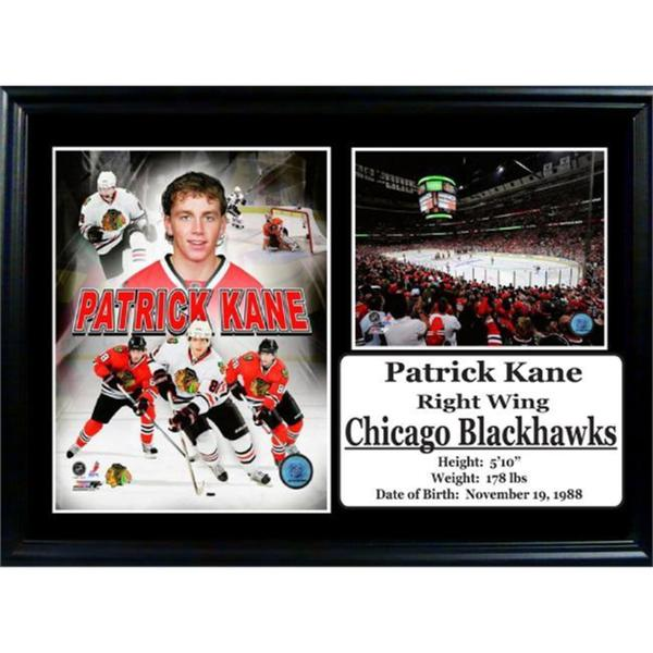 NHL Chicago Blackhawks Patrick Kane  12x18 Photo Stat Frame 15298957