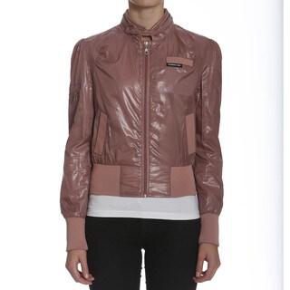 Members Only Women's Metallic Bomber Jacket
