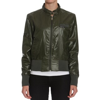 Members Only Women's Cire Bomber Jacket