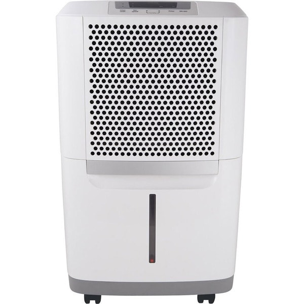 FAD504DWD 50 Pint Capacity Dehumidifier With Effortless Humidity Control  Effortless Automatic Shut Off  2 Fan Speeds  Effortless Full Tank Alert System 324753