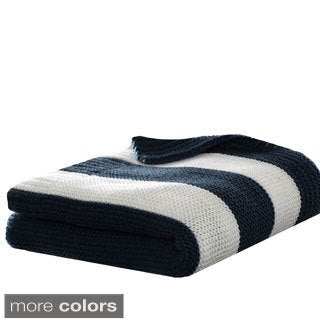 Eddie Bauer Rugby Stripe Throws
