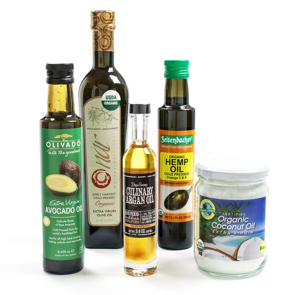 The Ultimate Healthy Oil Collection