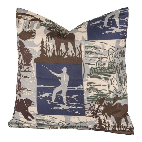 North Shore Throw Pillow
