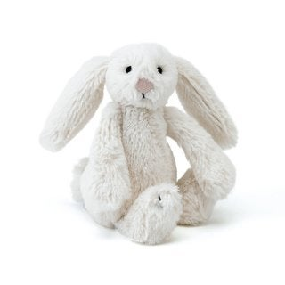 Jellycat Bashful Cream Bunny Plush Toy