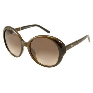 Chloe Women's CE649S Round Sunglasses
