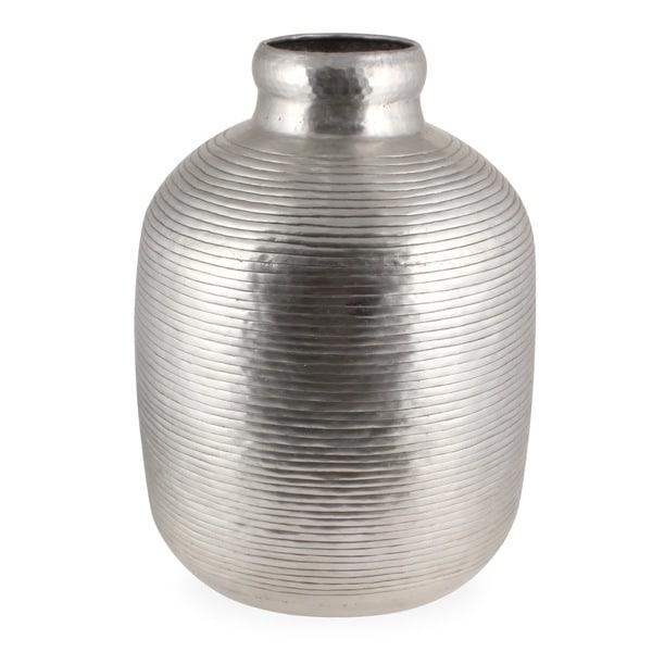 Orchid Decorative Aluminum Vase